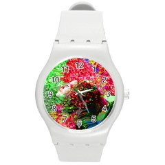 Summer Time Plastic Sport Watch (medium) by icarusismartdesigns