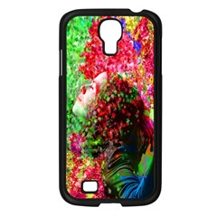 Summer Time Samsung Galaxy S4 I9500/ I9505 Case (black) by icarusismartdesigns