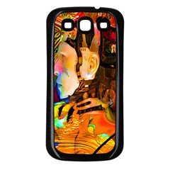 Robot Connection Samsung Galaxy S3 Back Case (black)