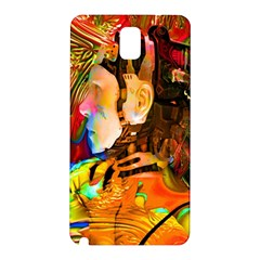 Robot Connection Samsung Galaxy Note 3 N9005 Hardshell Back Case by icarusismartdesigns