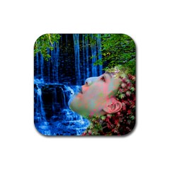 Fountain Of Youth Drink Coasters 4 Pack (square) by icarusismartdesigns
