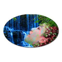Fountain Of Youth Magnet (oval) by icarusismartdesigns