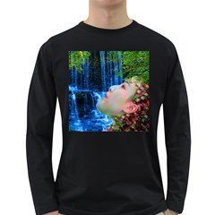 Fountain Of Youth Men s Long Sleeve T Shirt (dark Colored) by icarusismartdesigns