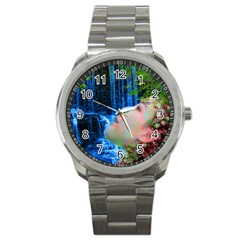 Fountain Of Youth Sport Metal Watch by icarusismartdesigns