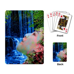 Fountain Of Youth Playing Cards Single Design by icarusismartdesigns