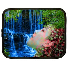 Fountain Of Youth Netbook Sleeve (xxl) by icarusismartdesigns