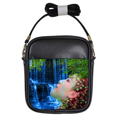 Fountain Of Youth Girl s Sling Bag by icarusismartdesigns