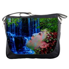 Fountain Of Youth Messenger Bag by icarusismartdesigns