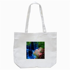 Fountain Of Youth Tote Bag (white) by icarusismartdesigns