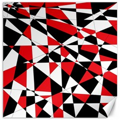 Shattered Life Tricolor Canvas 16  X 16  (unframed) by StuffOrSomething