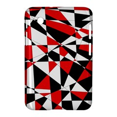 Shattered Life Tricolor Samsung Galaxy Tab 2 (7 ) P3100 Hardshell Case  by StuffOrSomething