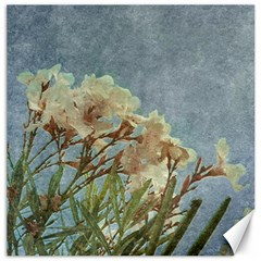 Floral Grunge Vintage Photo Canvas 20  X 20  (unframed)