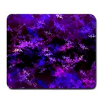 Purple Skulls Goth Storm Large Mouse Pad (Rectangle) Front