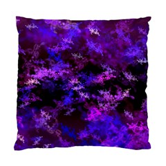 Purple Skulls Goth Storm Cushion Case (two Sided)  by KirstenStar