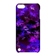 Purple Skulls Goth Storm Apple Ipod Touch 5 Hardshell Case With Stand by KirstenStar