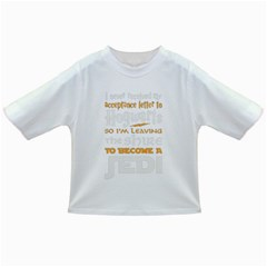Howarts Letter Baby T-shirt by empyrie