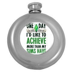 Sims Hip Flask (round) by empyrie