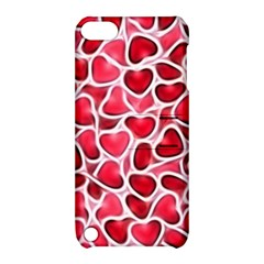 Candy Hearts Apple Ipod Touch 5 Hardshell Case With Stand by KirstenStar