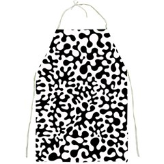 Black And White Blots Apron