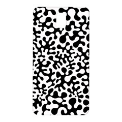 Black And White Blots Samsung Galaxy Note 3 N9005 Hardshell Back Case by KirstenStar