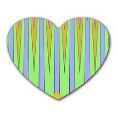 Spikes Heart Mousepad by LalyLauraFLM