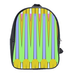 Spikes School Bag (xl) by LalyLauraFLM