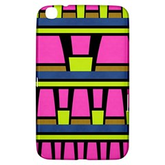Trapeze And Stripes Samsung Galaxy Tab 3 (8 ) T3100 Hardshell Case  by LalyLauraFLM
