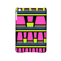 Trapeze And Stripes Apple Ipad Mini 2 Hardshell Case by LalyLauraFLM