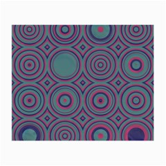 Concentric Circles Pattern Small Glasses Cloth (2 Sides) by LalyLauraFLM