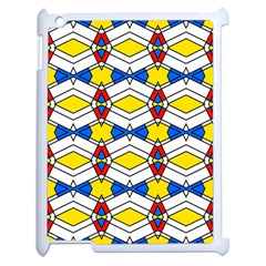 Colorful Rhombus Chains Apple Ipad 2 Case (white)