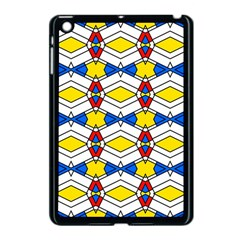 Colorful Rhombus Chains Apple Ipad Mini Case (black) by LalyLauraFLM