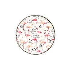 Flamingo Pattern Hat Clip Ball Marker (10 pack)