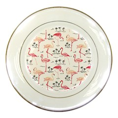 Flamingo Pattern Porcelain Plates by Contest580383
