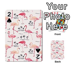 Flamingo Pattern Playing Cards 54 Designs