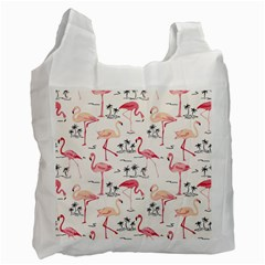 Flamingo Pattern Recycle Bag (one Side) by Contest580383