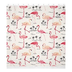 Flamingo Pattern Shower Curtain 66  x 72  (Large)