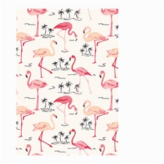 Flamingo Pattern Small Garden Flag (two Sides) by Contest580383