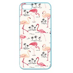 Flamingo Pattern Apple Seamless iPhone 5 Case (Color)