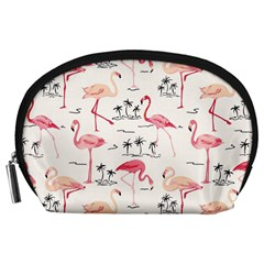 Flamingo Pattern Accessory Pouches (Large)