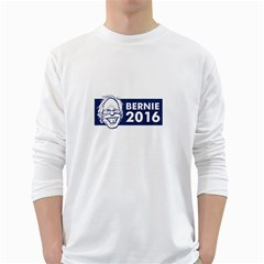 Bernie Sanders 2016 White Long Sleeve T-shirts