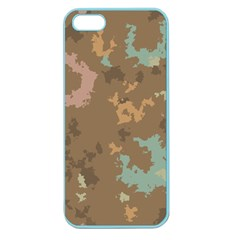 Paint Strokes In Retro Colors Apple Seamless Iphone 5 Case (color) by LalyLauraFLM
