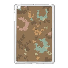 Paint Strokes In Retro Colors Apple Ipad Mini Case (white) by LalyLauraFLM