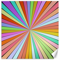 Colorful Beams Canvas 20  X 20  by LalyLauraFLM