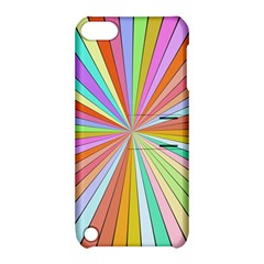 Colorful Beams Apple Ipod Touch 5 Hardshell Case With Stand by LalyLauraFLM