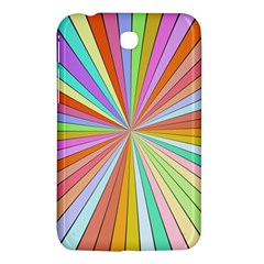 Colorful Beams Samsung Galaxy Tab 3 (7 ) P3200 Hardshell Case  by LalyLauraFLM