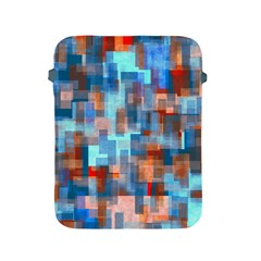 Blue Orange Watercolors Apple Ipad 2/3/4 Protective Soft Case by LalyLauraFLM