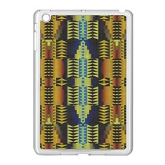 Triangles And Other Shapes Pattern Apple Ipad Mini Case (white)
