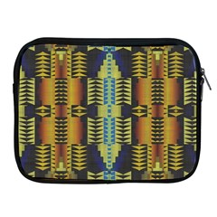 Triangles And Other Shapes Pattern Apple Ipad 2/3/4 Zipper Case by LalyLauraFLM