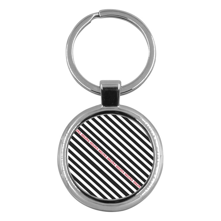 Selina Zebra Key Chains (Round)