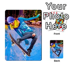 Skateboarding On Water Multi Purpose Cards (rectangle)  by icarusismartdesigns